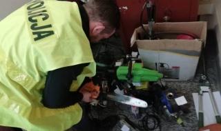 Włamywacze z powiatu skierniewickiego zatrzymani przez policję. Mogą trafić za kratki na 10 lat